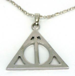 Harry Potter Deathly Hallows symbol pendant